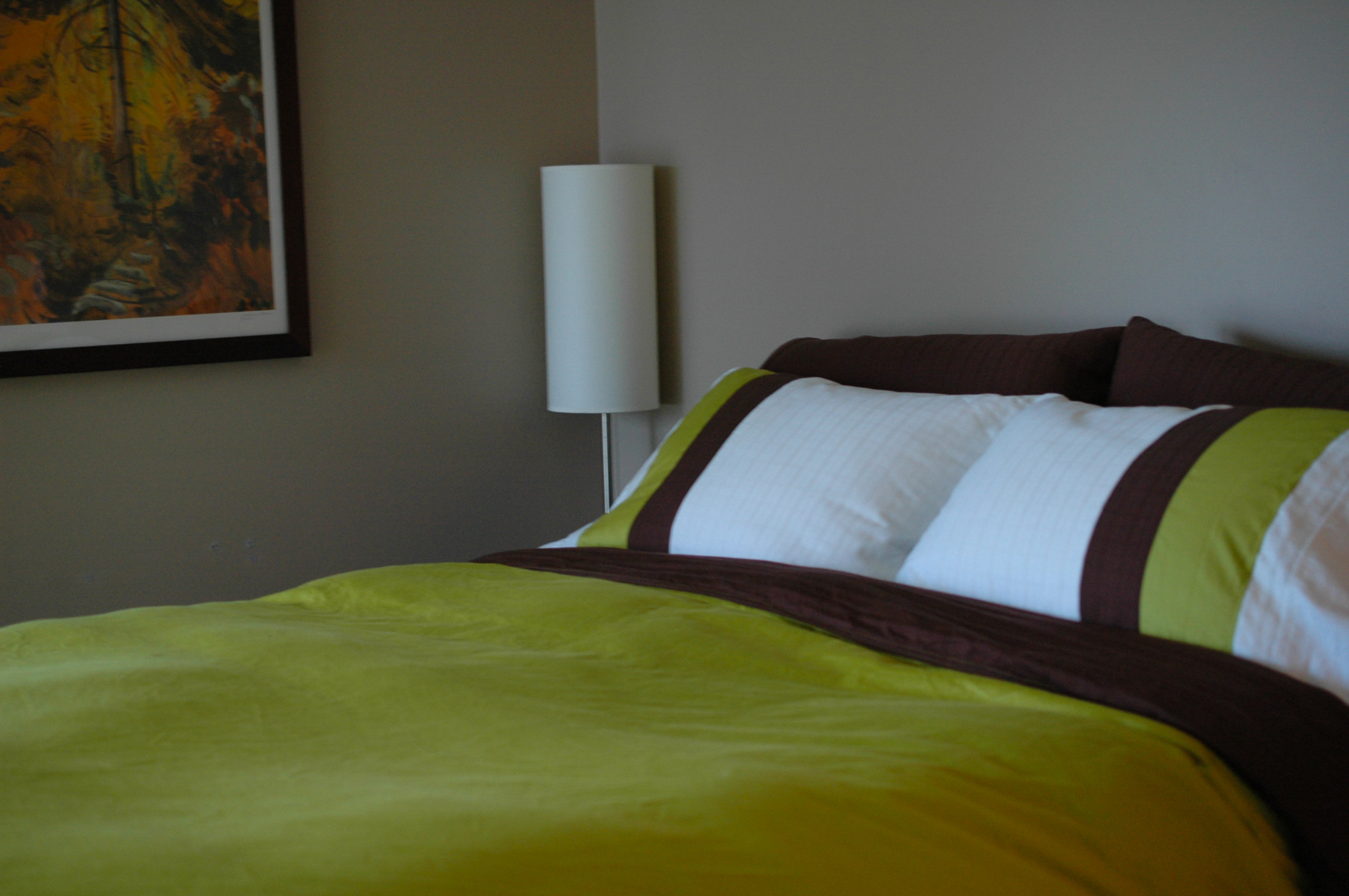 DIY Duvet Cover and Pillow Shams