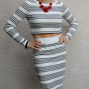 Striped Outfit 3