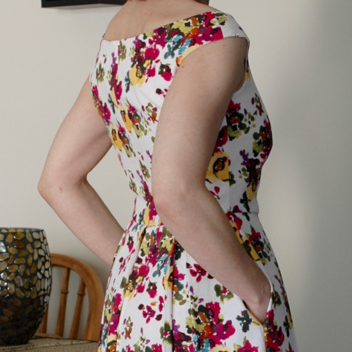 Custom Pattern Party Dress