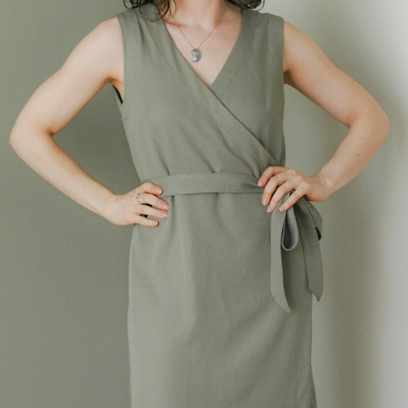 Highlands Wrap Dress #1