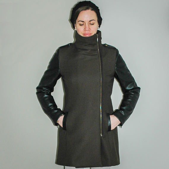 Pauline Alice Quart Coat – Modified