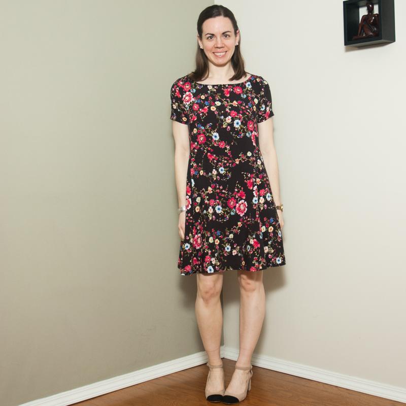 Sew Over It – Nancy Swing Dress – Lindsay Janeane