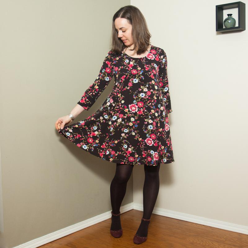 Sew Over It Nancy Swing Dress Lindsay Janeane Impressive Swing Dress Pattern