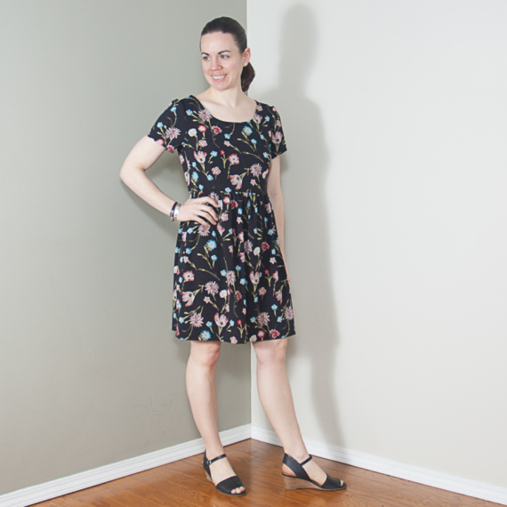 French Navy – Orla Dress #1