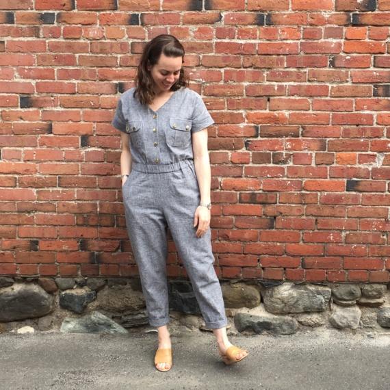 Marigold/Anza Jumpsuit