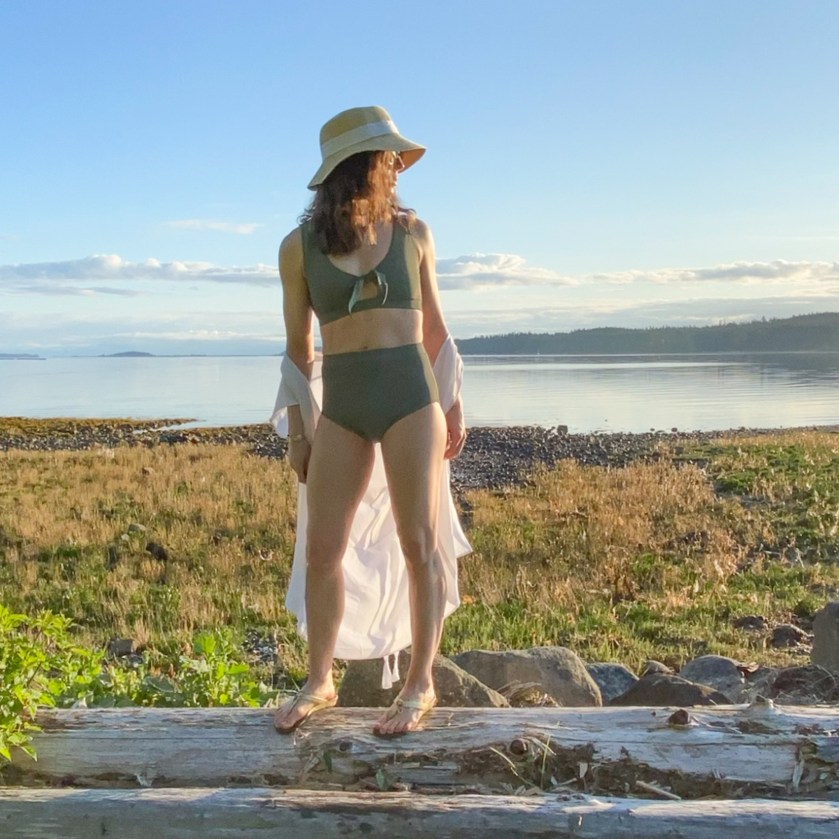 Friday Pattern Co. – Vernazza Two Piece