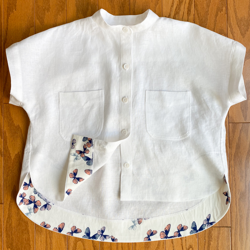 White Linen Closet Core Kalle Shirt