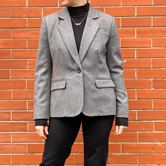 Italian Wool Blazer – Closet Core Patterns